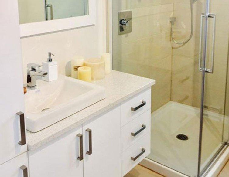 Salle de bain – Condo modèle
