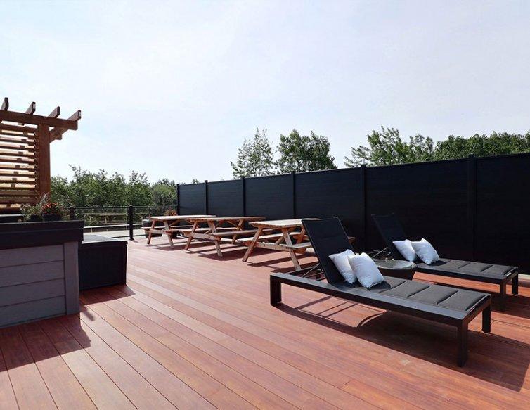 Terrasse – Projet Chambéry